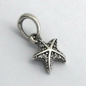 PANDORA Tropical Starfish Sterling Silver Pendant